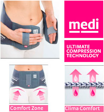 medi elastic knee support