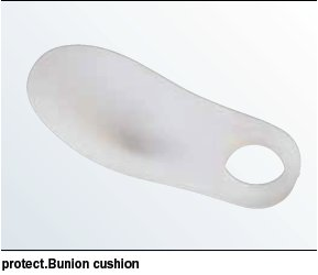 protect.Silicone foot supports